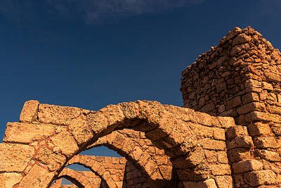 Caesarea Art Print by David Gleeson