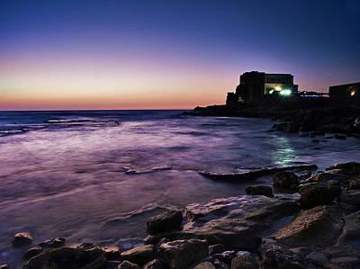 Photograph - Caesarea  by Meir Ezrachi