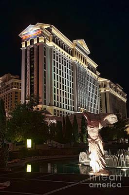 Photograph - Caesar's Palace by Eddie Yerkish