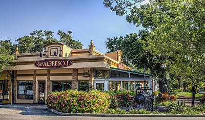 Photograph - Cafe Alfresco by Jane Luxton