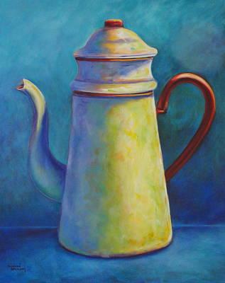 Painting - Cafe Au Lait by Shannon Grissom