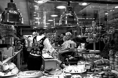 Photograph - Cafe Choices In Venice by John Rizzuto