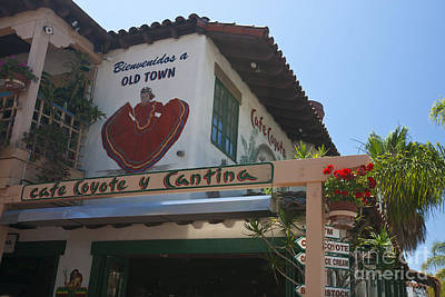 Caravaggio - Cafe Coyote y Cantina Mexican Restaurant Old Town San Diego by Jason O Watson