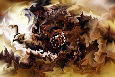 Digital Art - Cafe Creme by Selke Boris