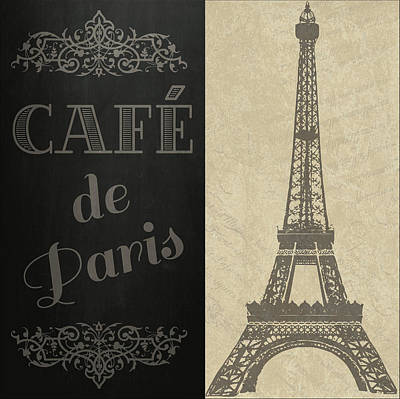 Digital Art - Cafe De Paris by Jaime Friedman