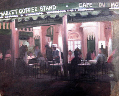 Painting - Cafe' Du Monde by Erin Rickelton