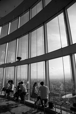 Photograph - Cafe In The Sky by Brad Brizek