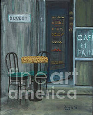 Painting - Cafe by Larry Farris
