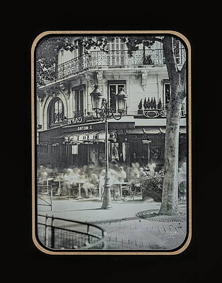 Photograph - Cafe Le Metro - Paris by Marinus Ortelee