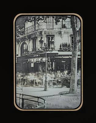 Photograph - Cafe Le Metro - Paris by Marinus Ortelee