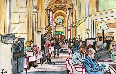 Cafe Marly Amsterdam Original by Yabette Swank