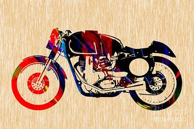 Photograph - Cafe Racer by Marvin Blaine