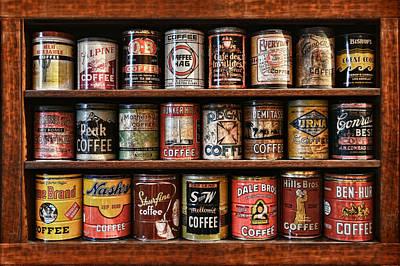 Espresso Painting - Cafe Retro No 5 by Douglas MooreZart