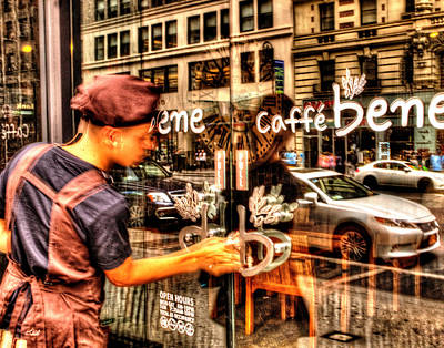 Photograph - Caffe Bene 001 by Jeff Stallard