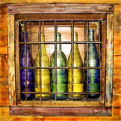 Caged Spirits Art Print by Ric Darrell