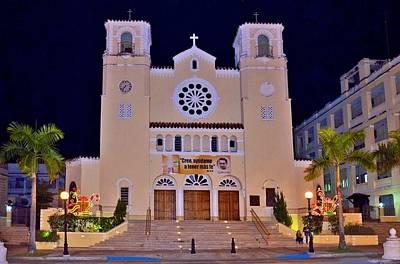 Photograph - Caguas Cathedral by Ricardo J Ruiz de Porras