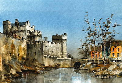 Cahir Castle  Tipperary Art Print