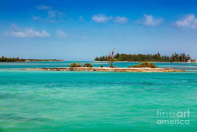 Photograph - Caicos Islands Coastline by Jo Ann Snover