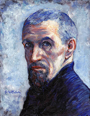 Tr Painting - Caillebotte by Tom Roderick