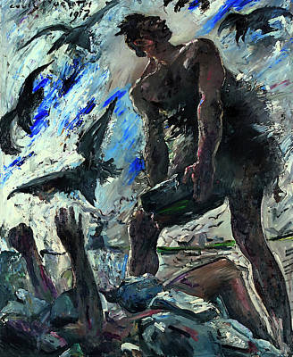 Christian Artwork Painting - Cain by Mountain Dreams