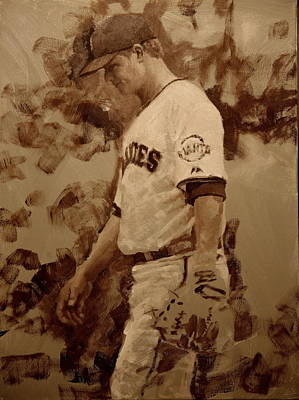 2012 World Series Painting - Cain Walk by Darren Kerr
