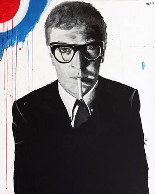 Caine Painting - Caine by Harry Moses
