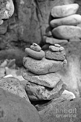 Photograph - Cairn by Mindy Bench