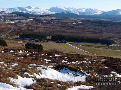 Photograph - Cairngorms Mountains From Dorback by Phil Banks
