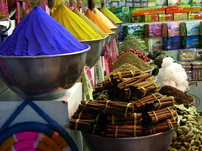 Photograph - Cairo - Egyptian Market - Spices by Jacqueline M Lewis
