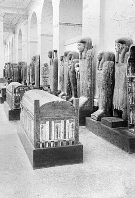 Cairo Egyptian Mummies Art Print by Granger