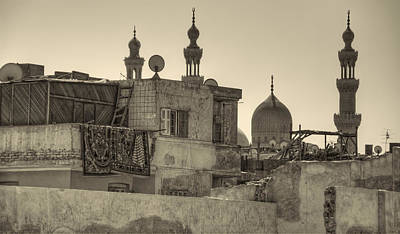 Photograph - Cairo Skyline II by Nigel Fletcher-Jones