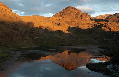Cuenca Photograph - Cajas National Park (3000-4,400m by Pete Oxford