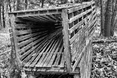 Louisiana Seafood Photograph - Cajun Camp Wooden Catfish Trap by JC Findley