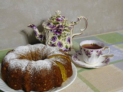 Photograph - Cake And A Cuppa by Peggy King