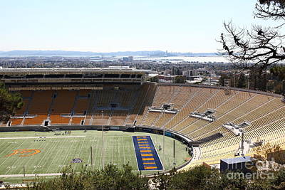 Cal Golden Bears California Memorial Stadium Berkeley California 5d24665 Art Print