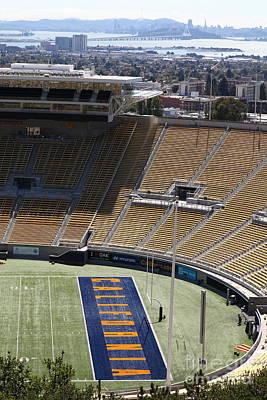 Cal Golden Bears California Memorial Stadium Berkeley California 5d24666 Art Print