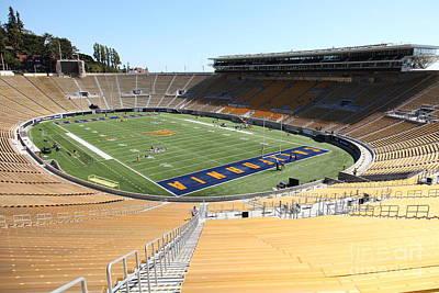 Cal Golden Bears California Memorial Stadium Berkeley California 5d24693 Art Print