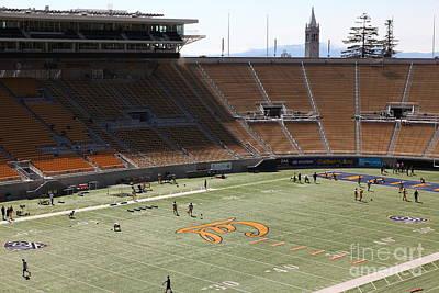 Cal Golden Bears California Memorial Stadium Berkeley California 5d24707 Art Print