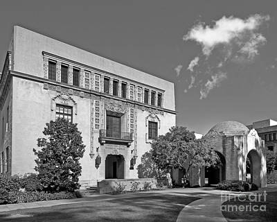 Photograph - Cal Tech Church And Kerckhoff by University Icons