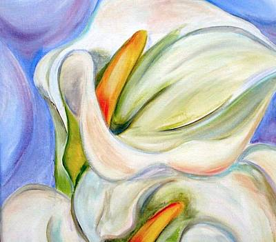 Painting - Cala Lily by Debi Starr