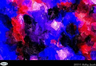 Digital Art - Caladium Immense Delight Joy by Holley Jacobs