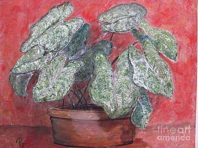 Painting - Caladiums by Pat Craft