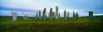 Ancient Civilization Photograph - Calanais Standing Stones, Isle by Panoramic Images
