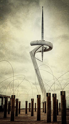 Calatrava Tower Original by Joan Carroll