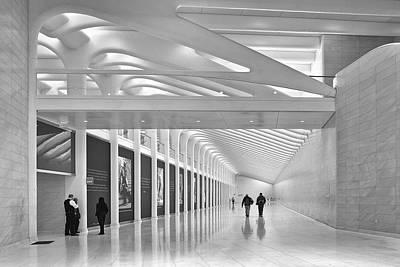 Photograph - Calatrava Walk No 1 by Cornelis Verwaal