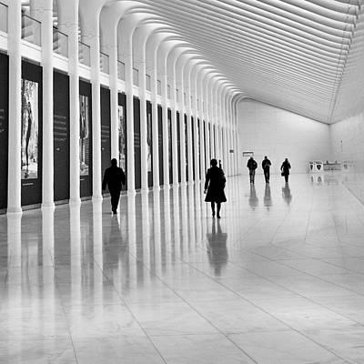 Photograph - Calatrava Walk No 2 by Cornelis Verwaal