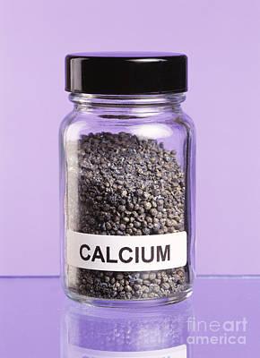 Calcium Art Print by Martyn F. Chillmaid