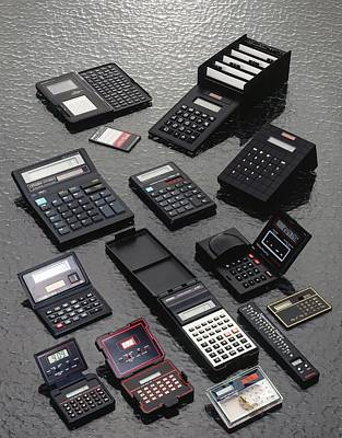 Calculators Art Print by Ton Kinsbergen