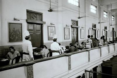 India Photograph - Calcutta Coffee House by Shaun Higson