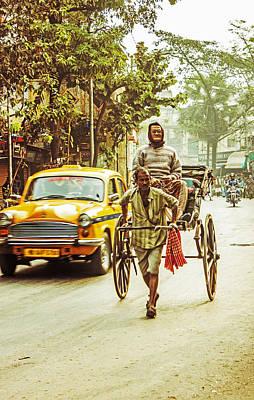 Calcutta Art Print